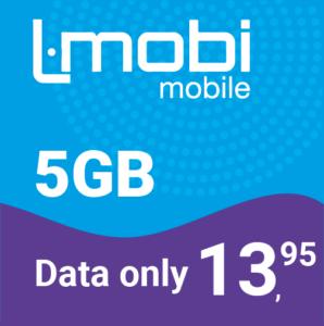 maandbundel data only prepaid simkaart